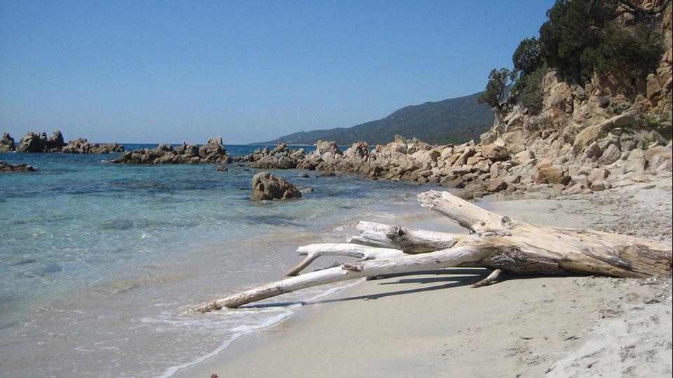 Les plages de sable blanc